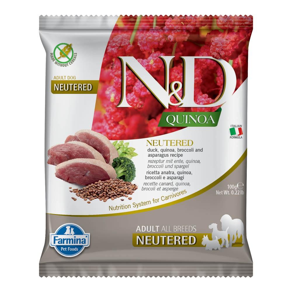法米納N&D犬用天然藜麥無穀機能系列 旅行包100g (限購2包)