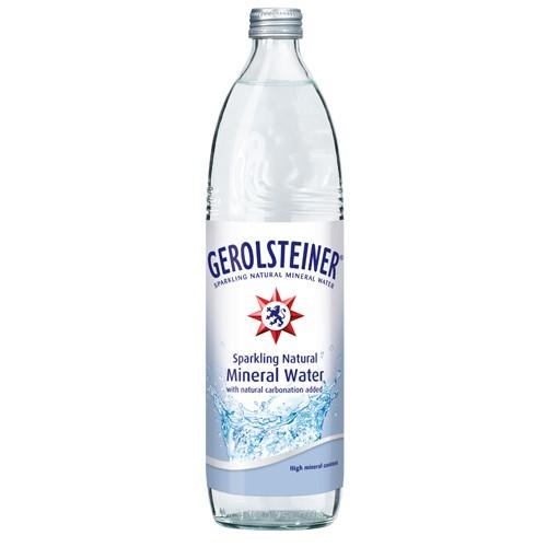 德國Gerolsteiner迪洛斯汀天然氣泡礦泉水 750ml(一箱15入)