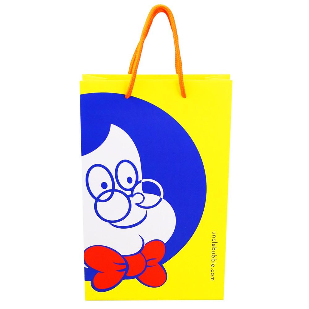 《安可堡》Uncle Bubble 紙手提袋(中)