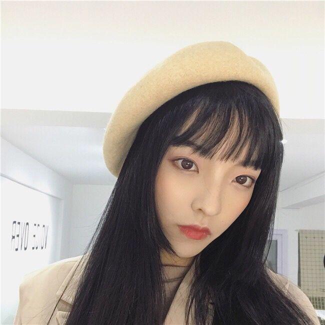【十一色現貨】批發價韓版素色學生帽日系百搭英倫學院風 貝雷帽女帽子時尚畫家帽