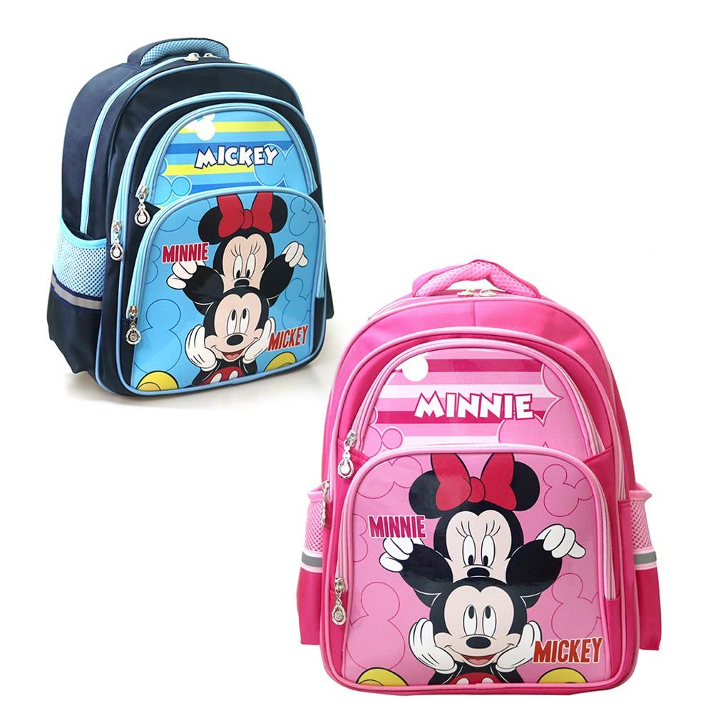 DF 正版 迪士尼 動畫 經典 米奇 米妮 休閒 兒童 後背包 護脊 透氣 兒童書包 繽紛鮮豔 男童 女童 書包