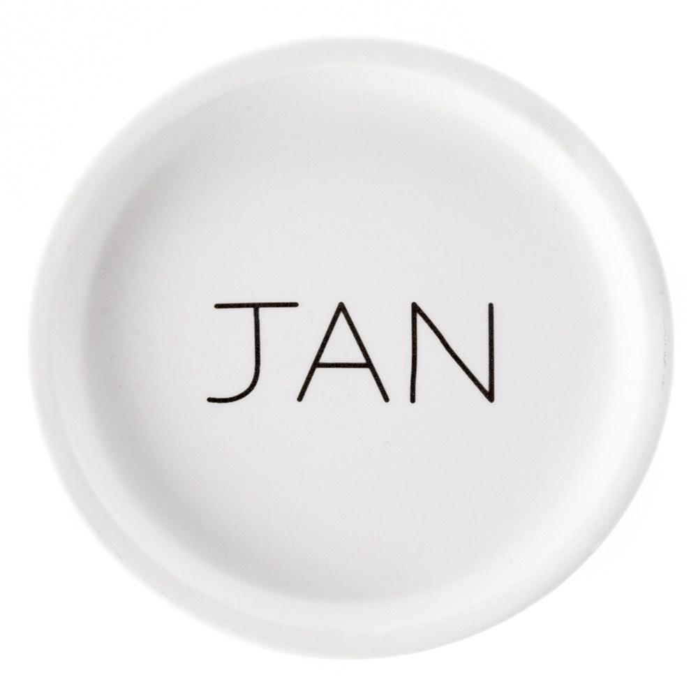 HOLA 馬克杯蓋 1月 January Jan.