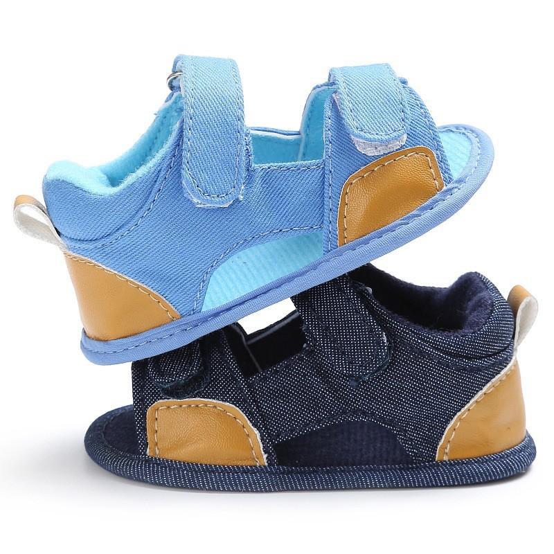 童鞋  新款童鞋嬰幼童寶寶鞋夏季0-1歲男寶寶涼鞋軟底嬰兒學步鞋嬰兒涼鞋