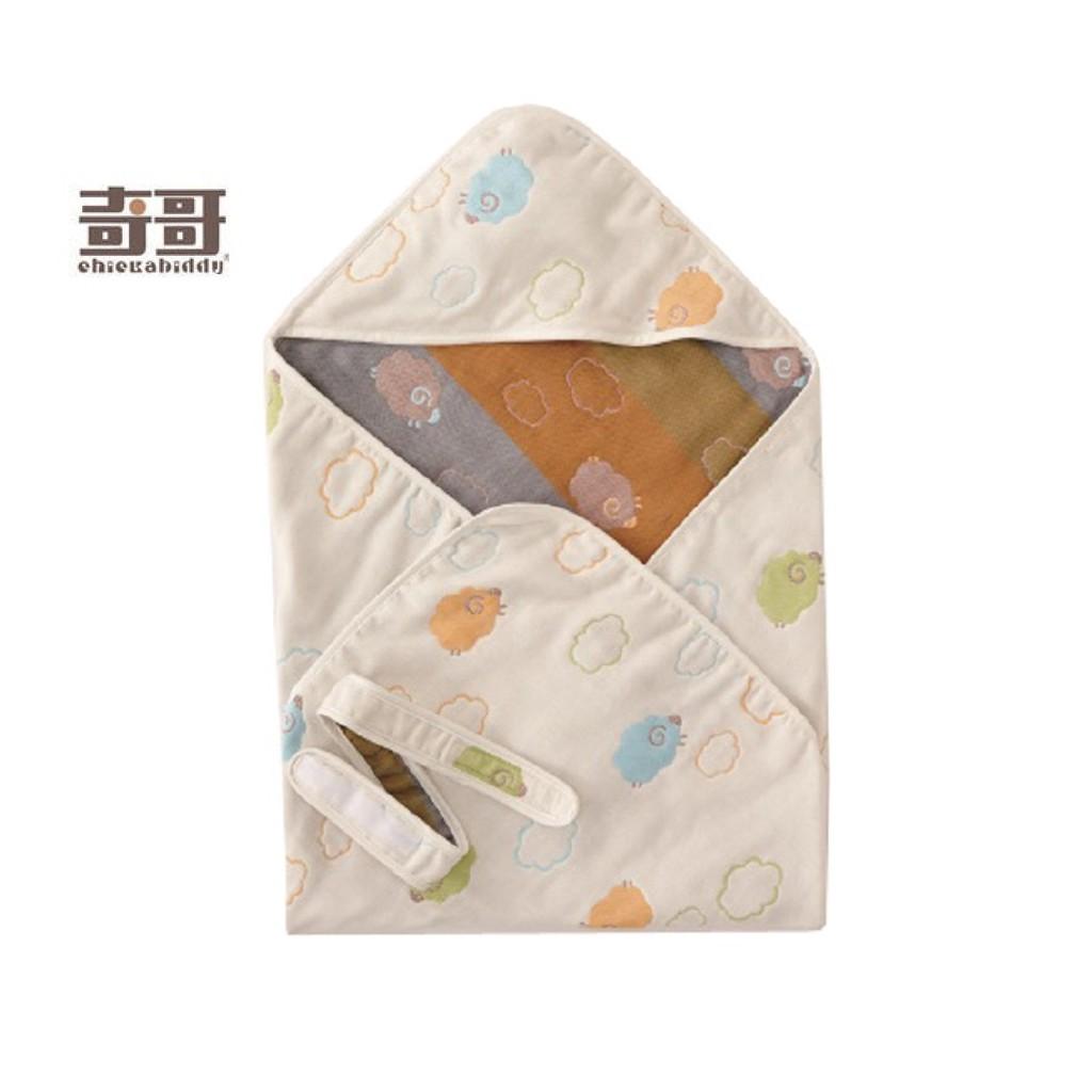 (免運 現貨)奇哥雲朵羊六層紗包巾 100%純棉