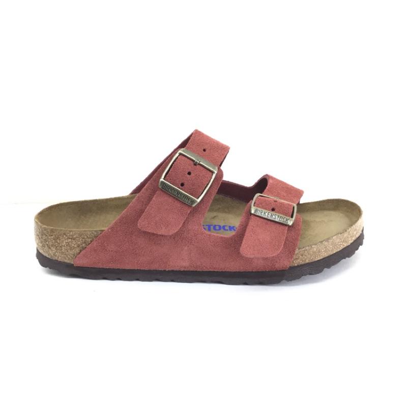 勃肯拖鞋 Arizona 亞歷桑那 (磚紅色、軟墊) Birkenstock 草屯店
