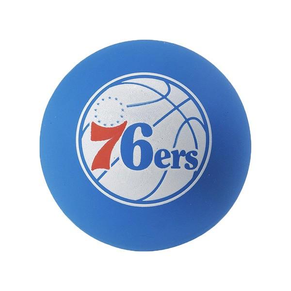 SPALDING 斯伯丁 彈力球 超彈力小球 NBA 76人 藍色 直徑6公分【SPA51209】