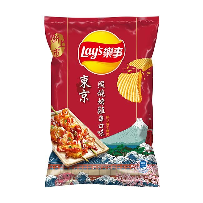 樂事波樂東京照燒烤雞串 97g  【大潤發】