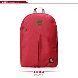 【INUK加拿大潮牌包】INUK 舒適減壓休閒後背包-紅