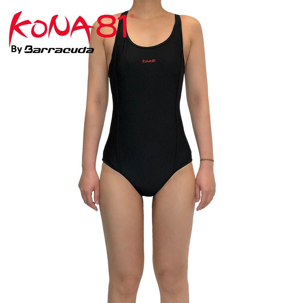 美國 KONA81 運動抗UV 三角連身泳裝 ( 買就送泳鏡)