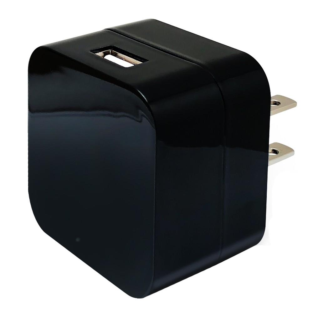 CHICHIAU-WIFI 1080P 大方塊USB充電器造型無線網路微型針孔攝影機M5