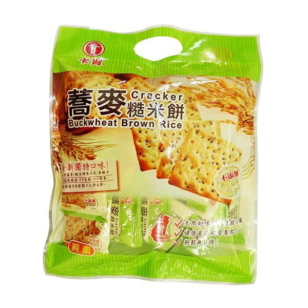 卡賀蕎麥糙米餅 300g  【大潤發】