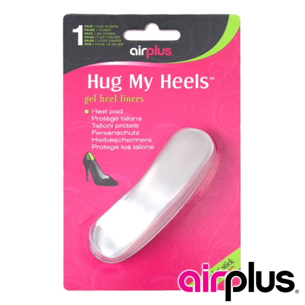 【Airplus】Hug my heels 女腳跟零磨擦隱形鞋墊 71115 (一雙)