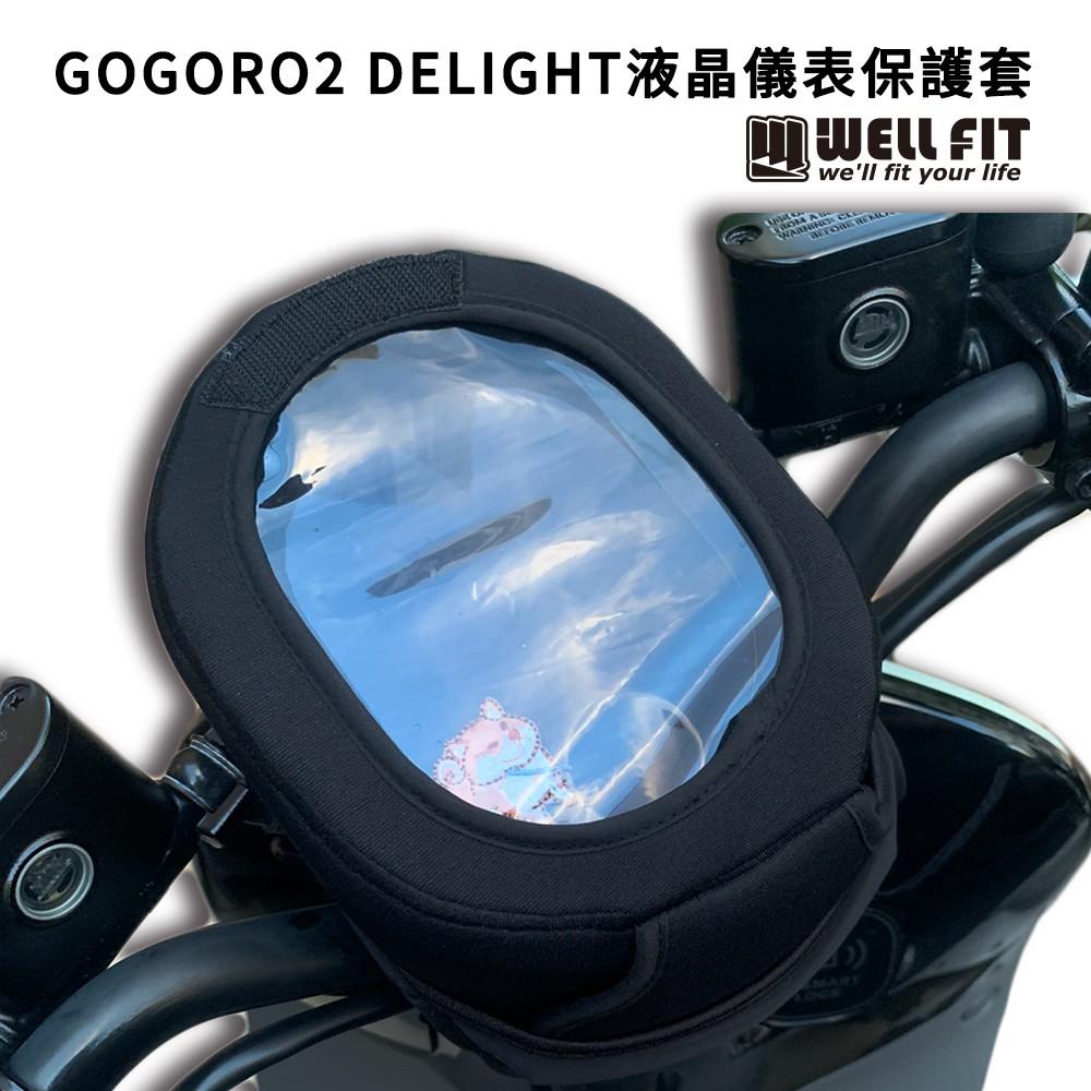 【威飛客 WELLFIT】GOGORO2 Delight 液晶儀表保護套(防曬、防水、防刮)