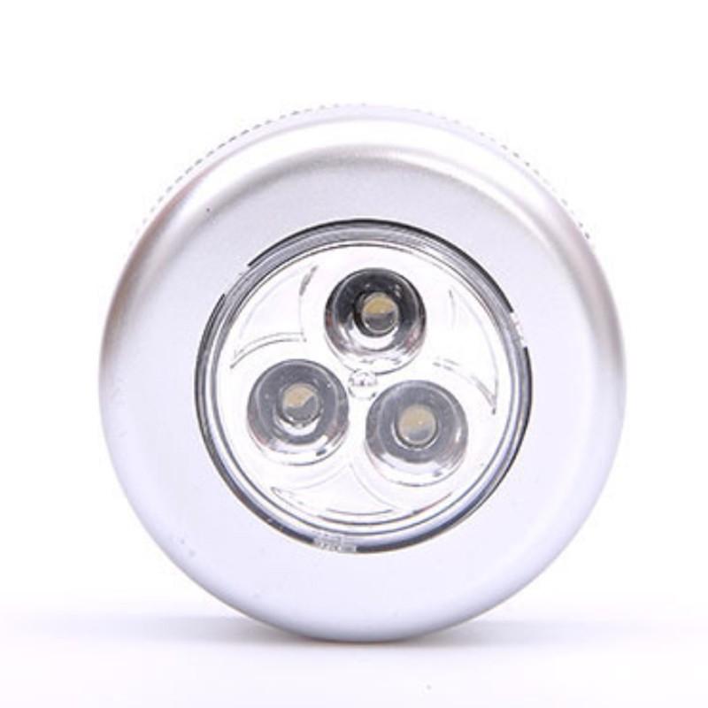 LED三顆星造型照明應急小夜燈 吸頂燈 節能燈 露營燈 應急LED觸摸燈拍拍燈應急燈【JI0401】《Jami》