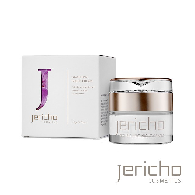 Jericho 死海水凝修護晚霜 50g 修護 抗皺撫紋 保濕淨白 高效緊緻 多元修護