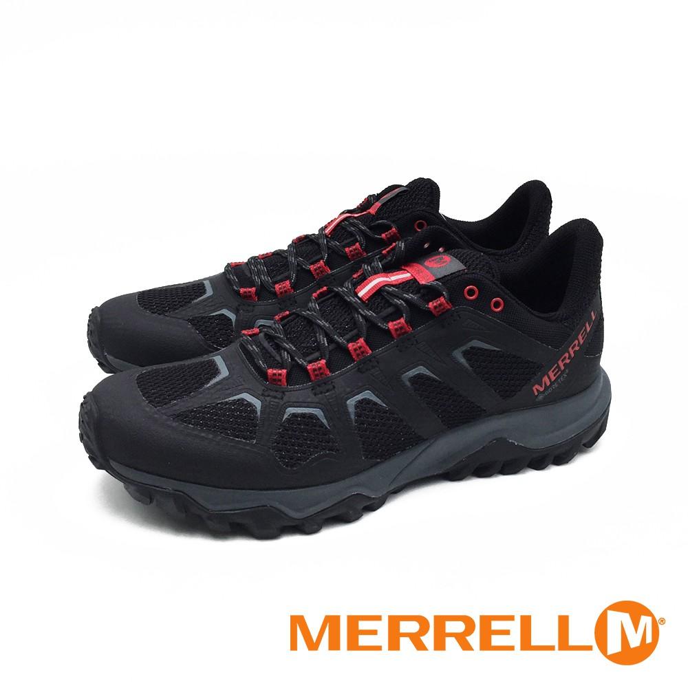 MERRELL (男) FIERY GORE -TEX 防水健走登山鞋-黑