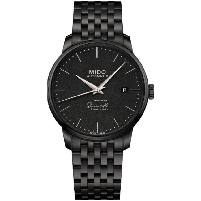 Mido 美度錶 M0274073305000 Baroncelli Heritage 輕巧簡潔男士腕錶 /39mm