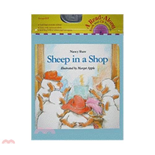 Sheep in a Shop (1平裝+1CD) 廖彩杏老師推薦有聲書第15週【三民網路書店】[73折]