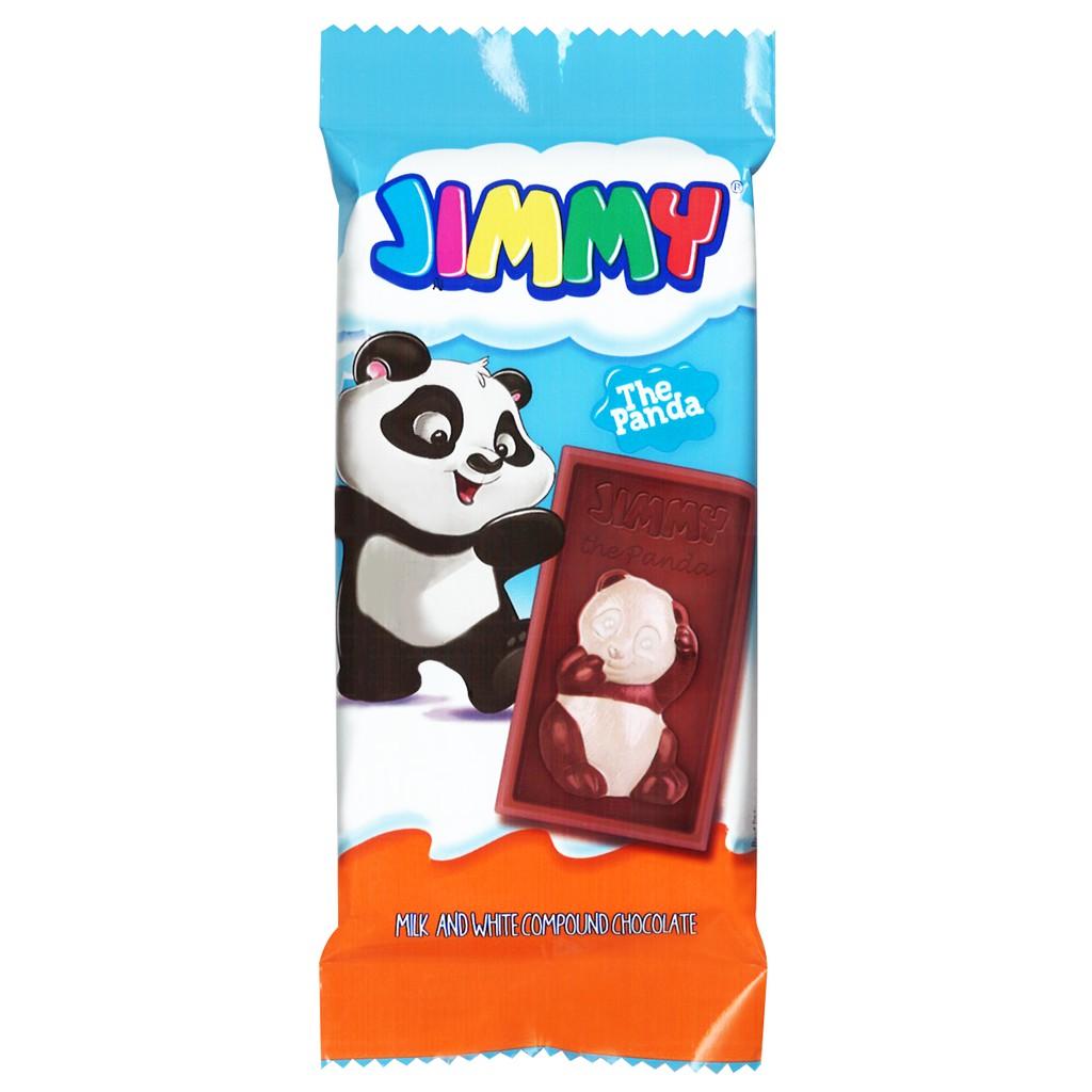 Tayas塔雅思JIMMY 熊貓代可可脂巧克 40G【美日多多】