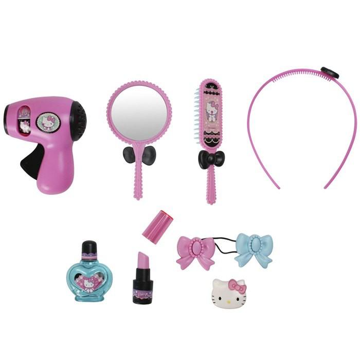日本 Hello Kitty 美髮彩妝組合 化妝玩具(3603)