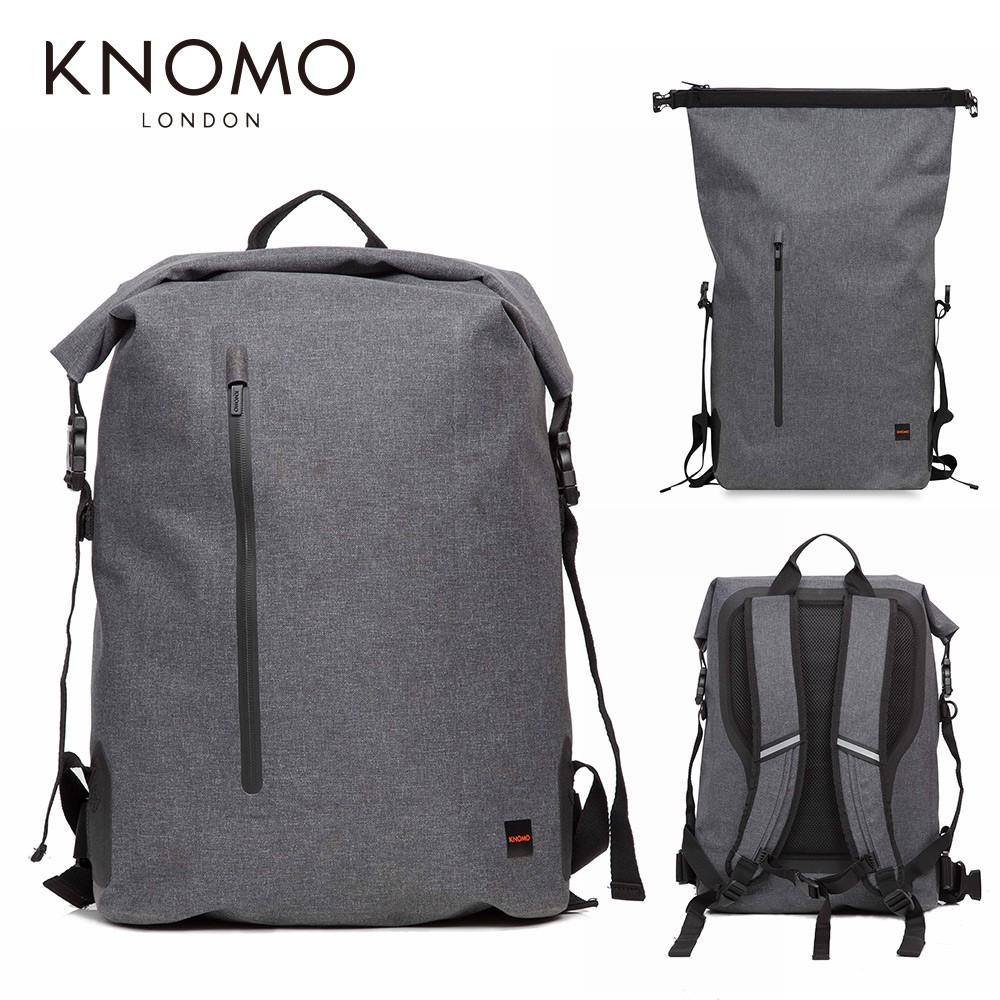KNOMO CROMWELL 英倫防水雙肩捲頂式背包 後背包 包包