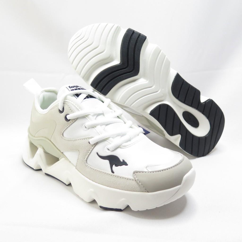 KangaROOS 袋鼠 GROOVE II 復古休閒鞋 KW11261 女款 米白【iSport愛運動】