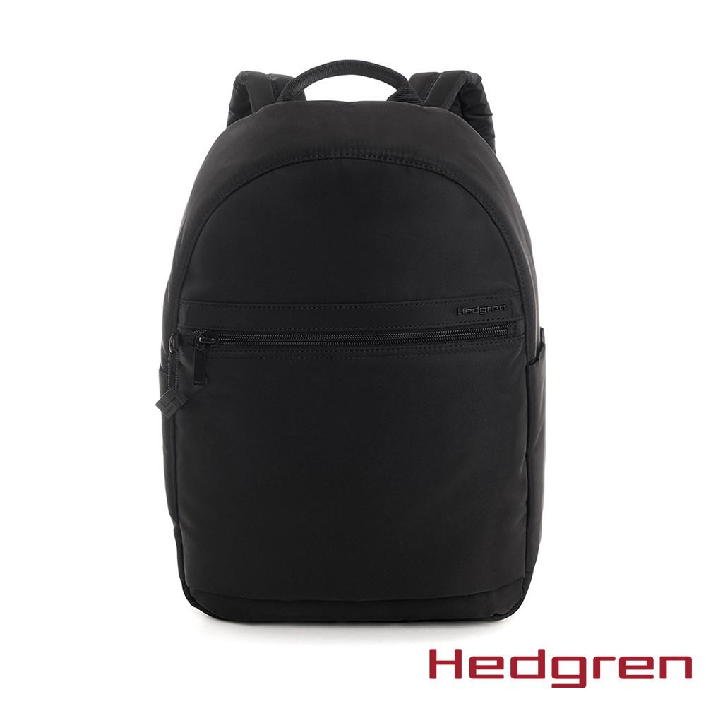 【Hedgren】INNER CITY旅行防盜 後背包-墨黑(XL)