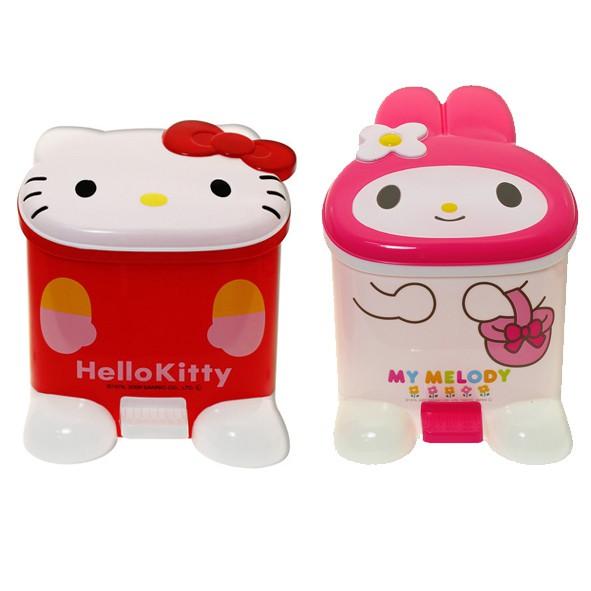 立體造型垃圾筒(Hello Kitty/Melody)