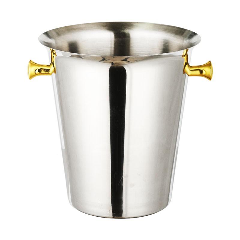 最新上架-不銹鋼歐式紅酒冰桶 酒桶 大號冰酒桶 香檳桶 金耳銀耳冰桶