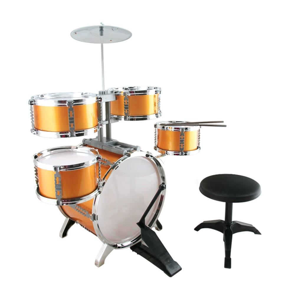 兒童玩具 兒童爵士鼓 打擊樂器 7件組【酷比樂】