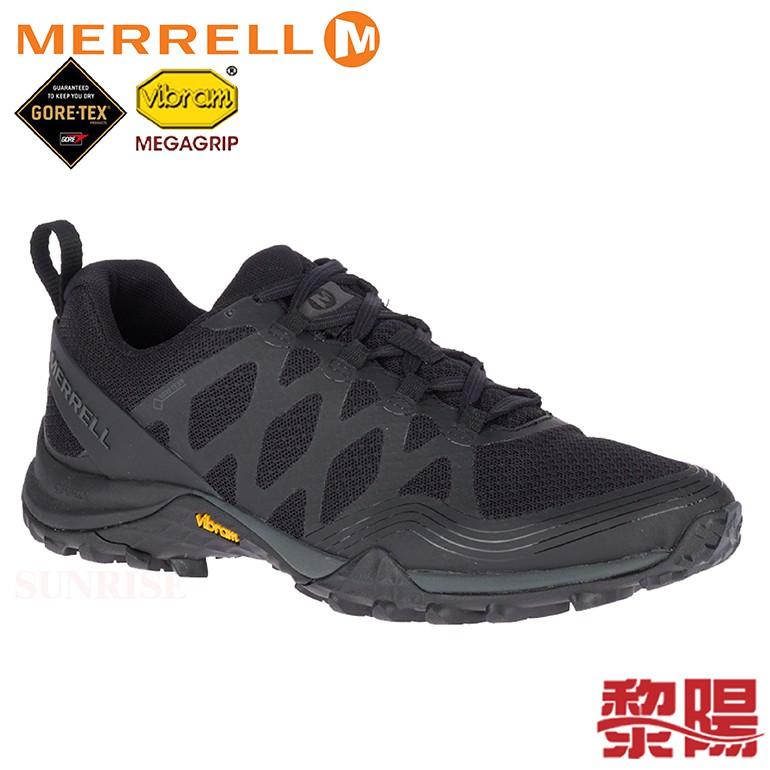 MERRELL 美國 65744 Siren 3 GORE-TEX® 防水多功能健行鞋 女 黑 登山鞋/全方位性能大底