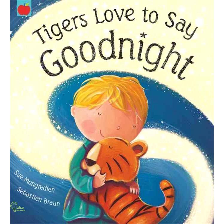 Tigers Love to Say Goodnight【禮筑外文書店】[5折]