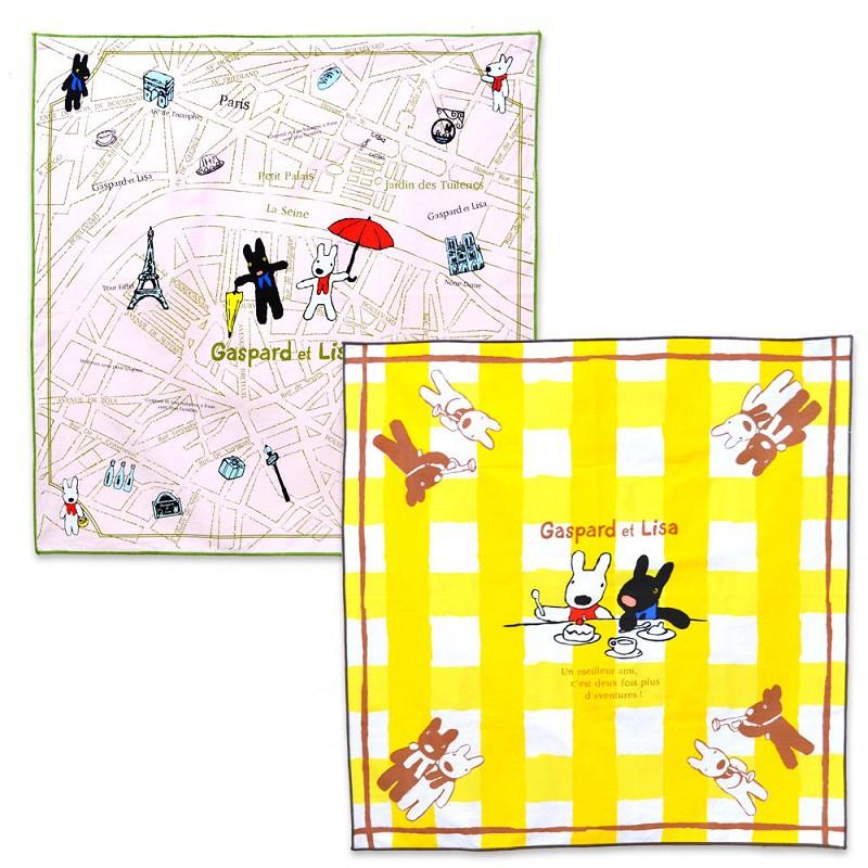 【麗莎和卡斯柏】 午餐包巾組(2入)