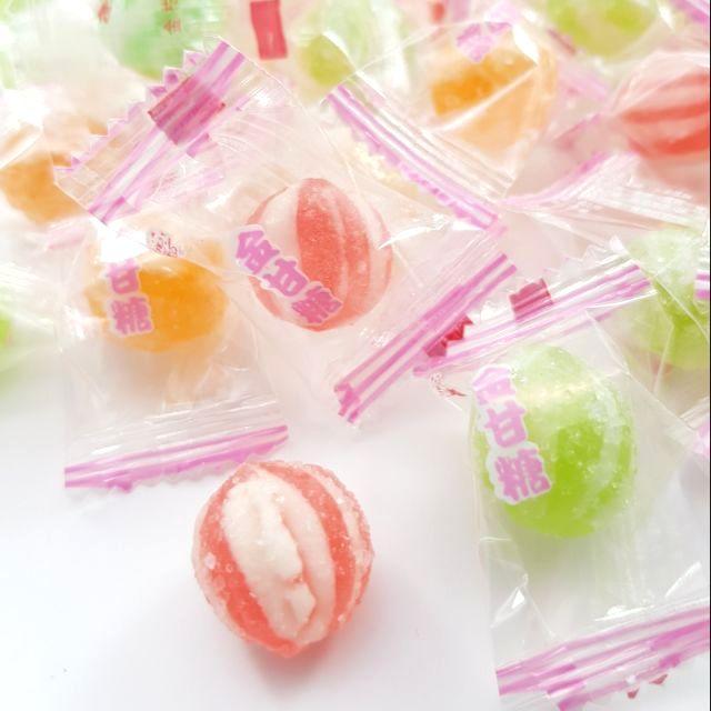 嘗甜頭 附發票 金甘糖 200公克 包裝糖果 柑仔店 西瓜糖球 懷舊糖果 古早味糖果 喜糖