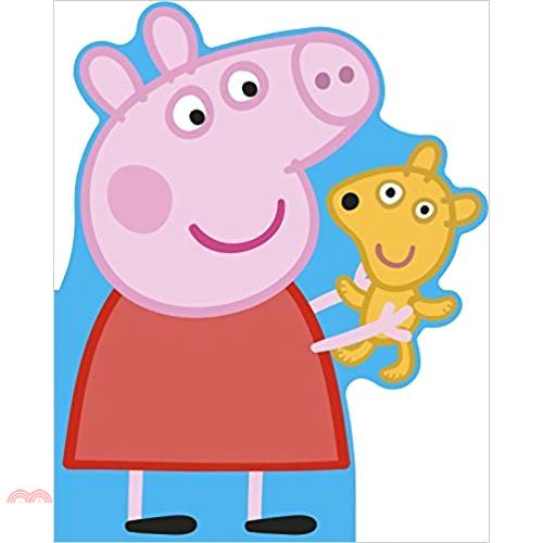 Peppa Pig: All About Peppa: A Peppa-shaped board【三民網路書店】