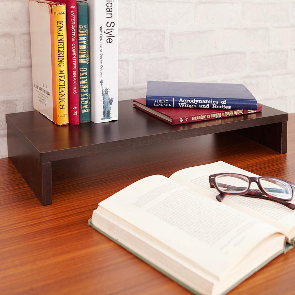 【百諾優】簡單生活木製桌上螢幕收納架  桌上架 螢幕架 收納架 置物架 鍵盤架 ST004