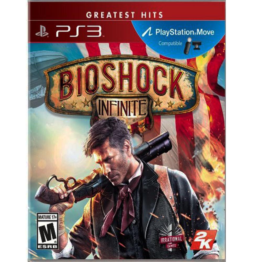 PS3 生化奇兵 無限之城 英文美版 PS3 Bioshock (支援MOVE-非必要)【一起玩】(現貨全新)
