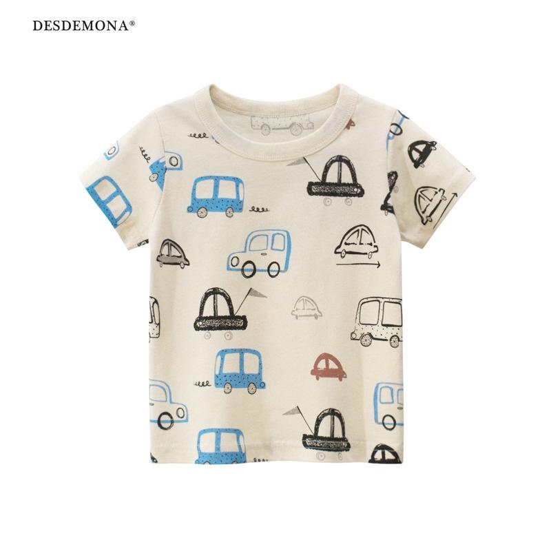27kids品牌童裝男童2020夏裝 韓版兒童短袖T恤棉寶寶衣服 童裝
