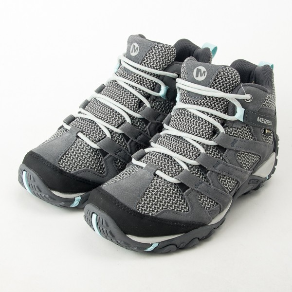 MERRELL 戶外鞋 Alverstone Mid GTX 女鞋 登山 越野 防水 中筒 透氣 ML034596 現貨