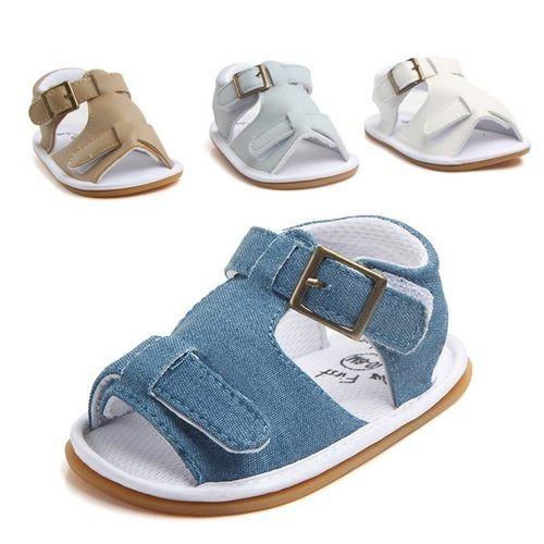 寶寶涼鞋 學步鞋 軟底防滑嬰兒鞋(11.5-12.5cm) MIY0824 好娃娃