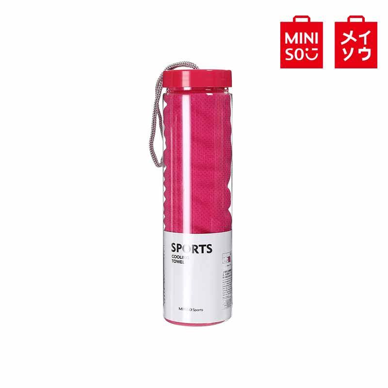 【MINISO名創優品】MINI Sport-運動冰巾(玫紅色)