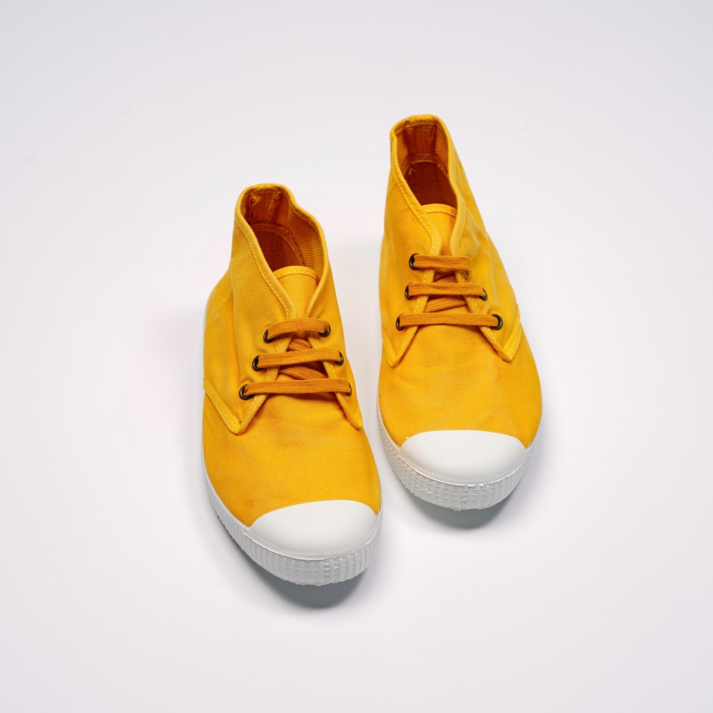 CIENTA 西班牙帆布鞋 60777 64 芥末黃 洗舊布料 大人 Chukka