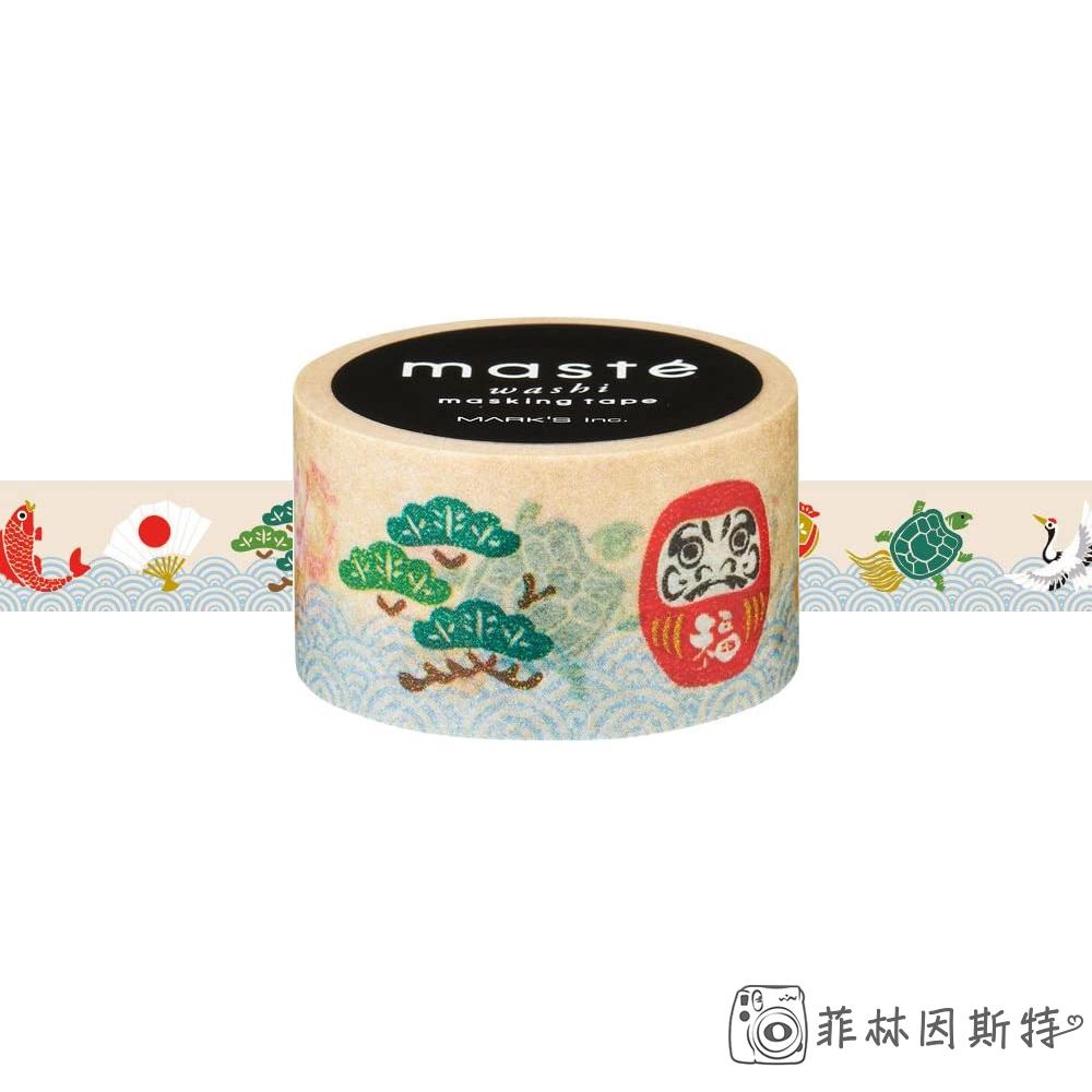 maste MKT90-A  富貴 紙膠帶 日本進口 washi 和紙 裝飾膠帶 菲林因斯特