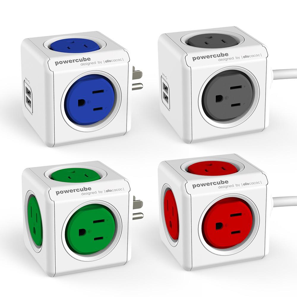 【荷蘭PowerCube】擴充插座延長線 共8款《WUZ屋子》USB延長線 遙控延長線 USB插座
