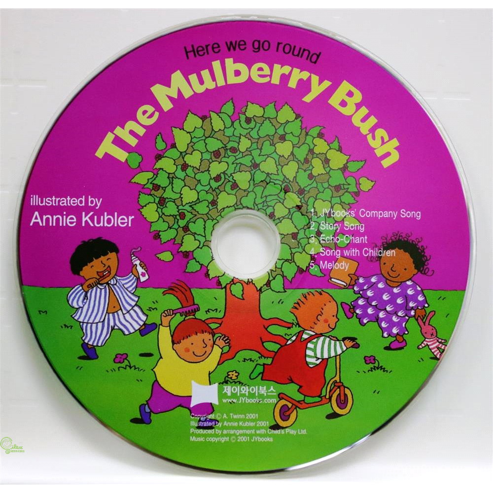 Here We Go Round the Mulberry Bush (1 CD only)【禮筑外文書店】[79折]
