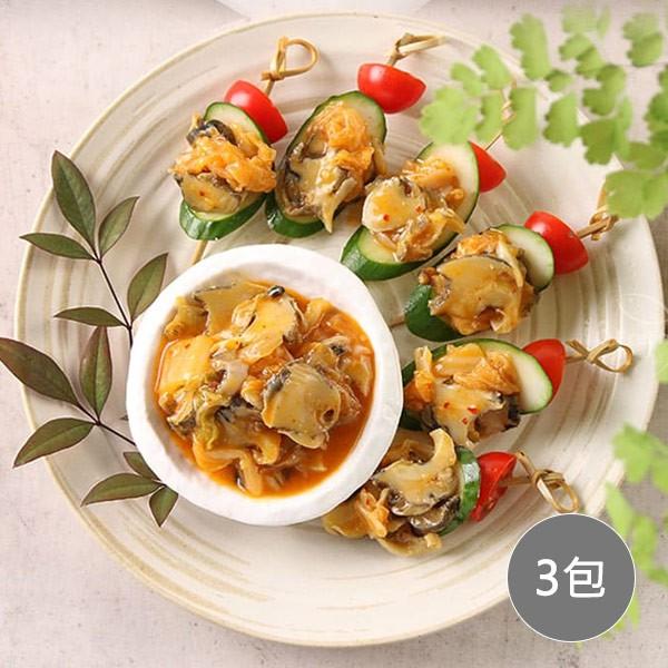 【愛上美味】黃金泡菜螺片 3包