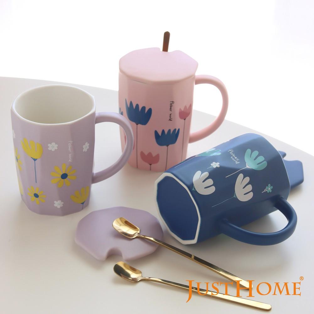 【新品】陶瓷杯 馬克杯 馬克杯附蓋 陶瓷杯子 早餐杯 麥片杯 燕麥杯