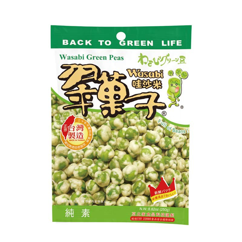 【豆之家】翠果子-哇沙米翠果子 MIDO 250g