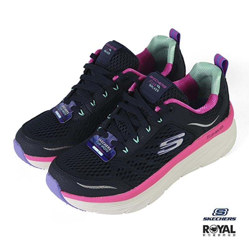 Skechers D'lux 藍色 網布 休閒運動鞋 女款NO.J0550  149023NVMT  廠商直送 現貨
