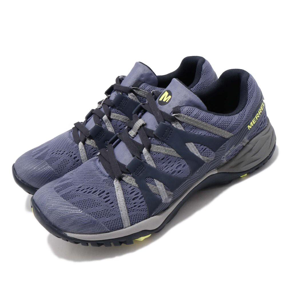 【Merrell】戶外鞋 Siren Hex Q2 E-Mesh GTX 低筒防水登山健行鞋 ML49226